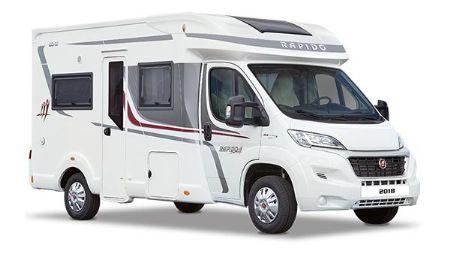 Rapido 604F 2018 Model - Due Dec 2017