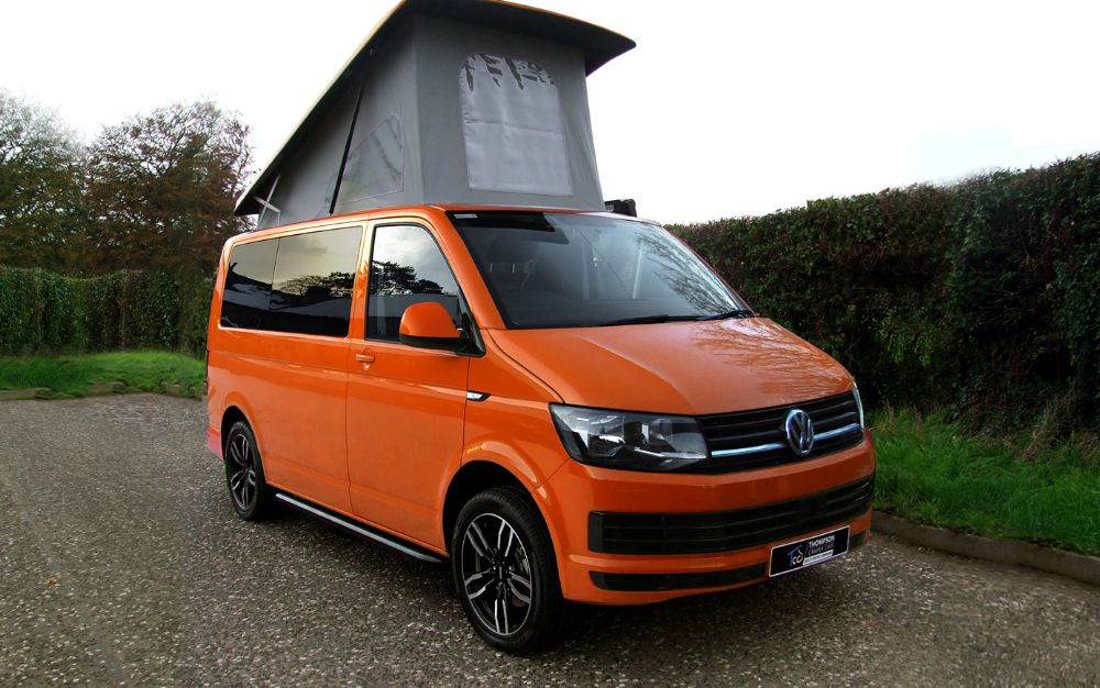 NEW TCC Evolution - Orange VW Camper Van From £37,995