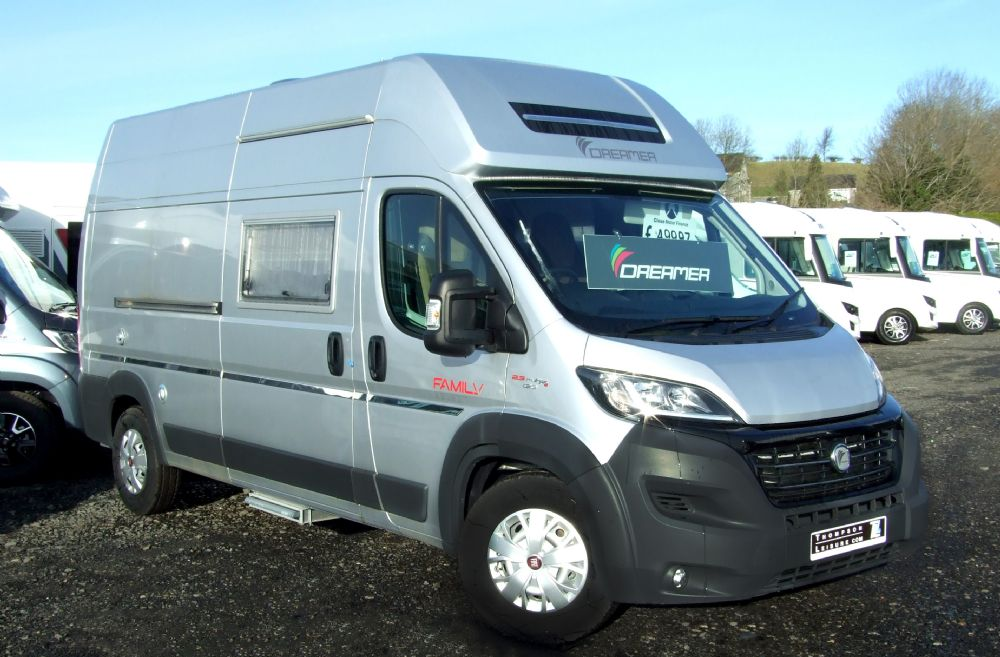 Dreamer Family Van Select - February special save £3000!!