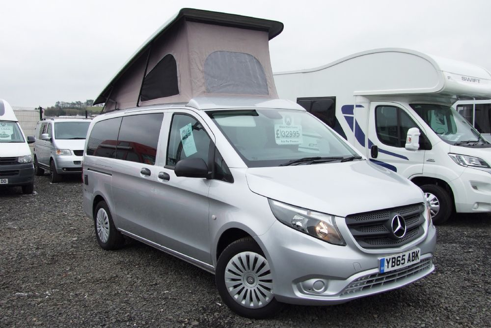 Mercedes Vito  Camper - Conversion by Wellhouse Leisure