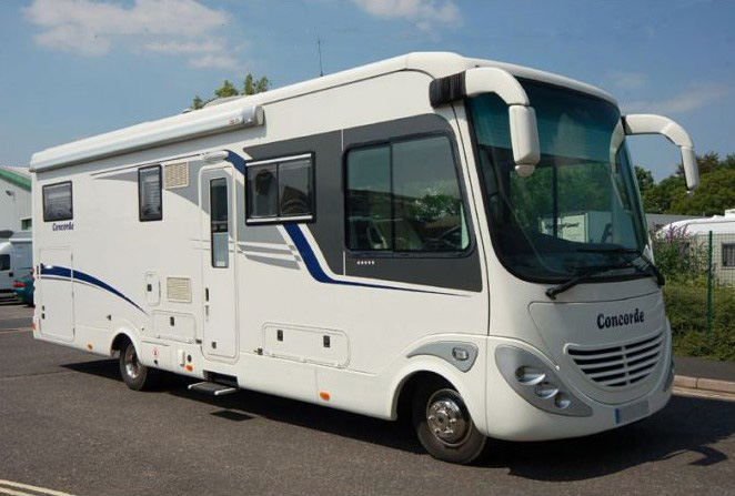 Concorde Charisma 890L - Luxurious 8.9m Motorhome