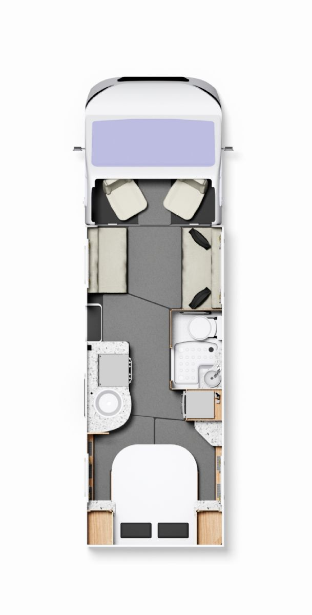 NEW Elddis Encore 250 - Automatic