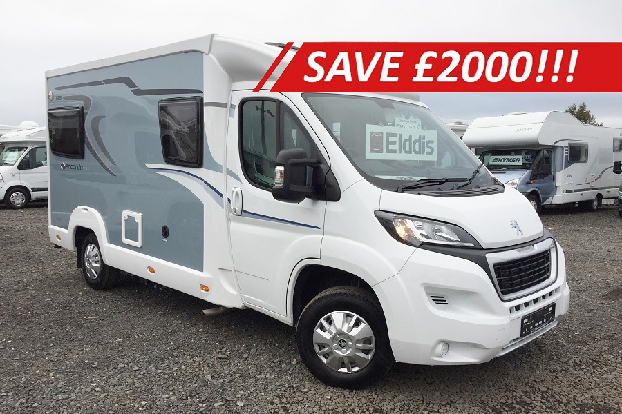 LAST ONE REMAINNG NEW 2018 Elddis Accordo 135