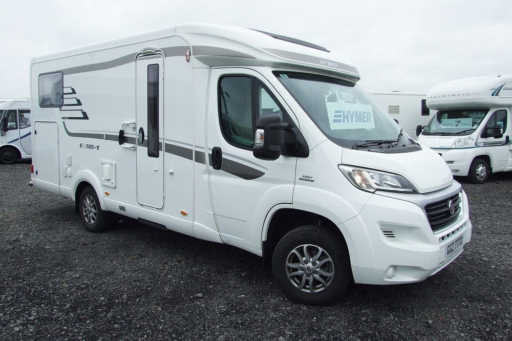 Hymer Exsis T 564 - Registered 2017