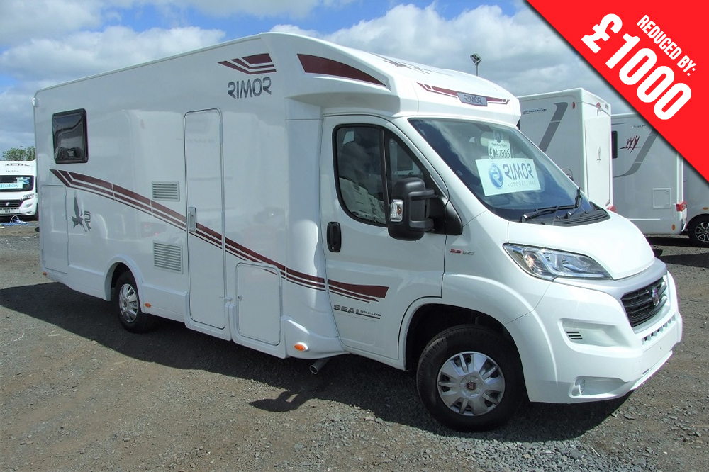 Rimor Seal 95 P NEW 2018 MOTORHOME - Now in Stock