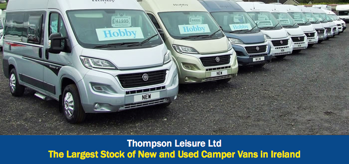 New And Used Motorhomes UK, Northern Ireland And Ireland
